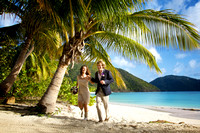 Kirk and Kaleigh on Guana Island
